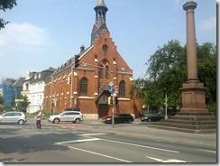 Pfarr- und Elternhaus, Friedenskirche, Friedensplatz in Oldenburg